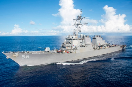 Bonhomme Richard Conducts Fueling at Sea with USS John S. McCain (DDG 56)